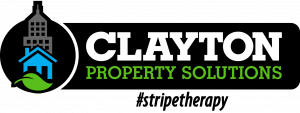 Clayton Property Solutions – Cincinnati's Home for Stripe Therapy Logo
